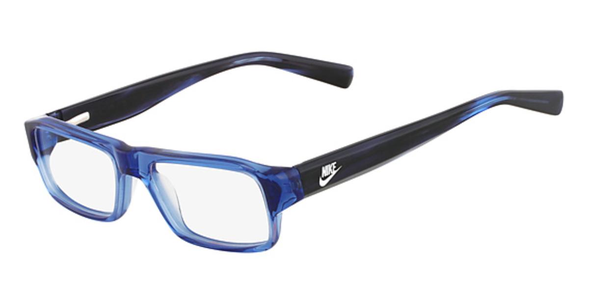 Nike Black Frame Glasses : Nike 5524 Eyeglasses Frames