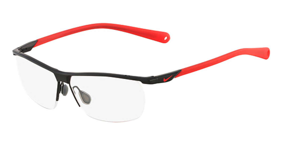 Nike Black Frame Glasses : Nike 6055/2 Eyeglasses Frames