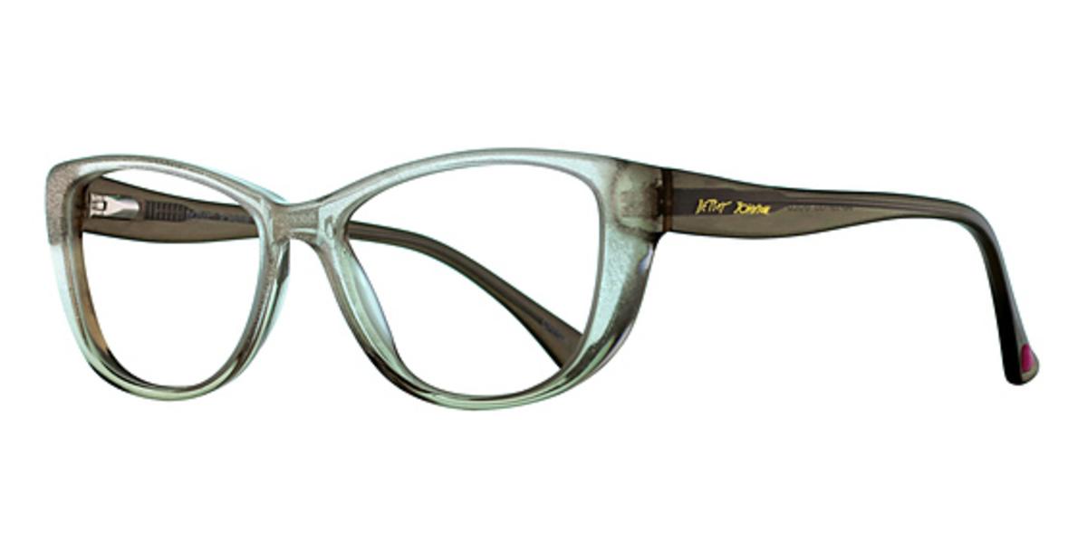 Betsey Johnson Glam Eyeglasses Frames