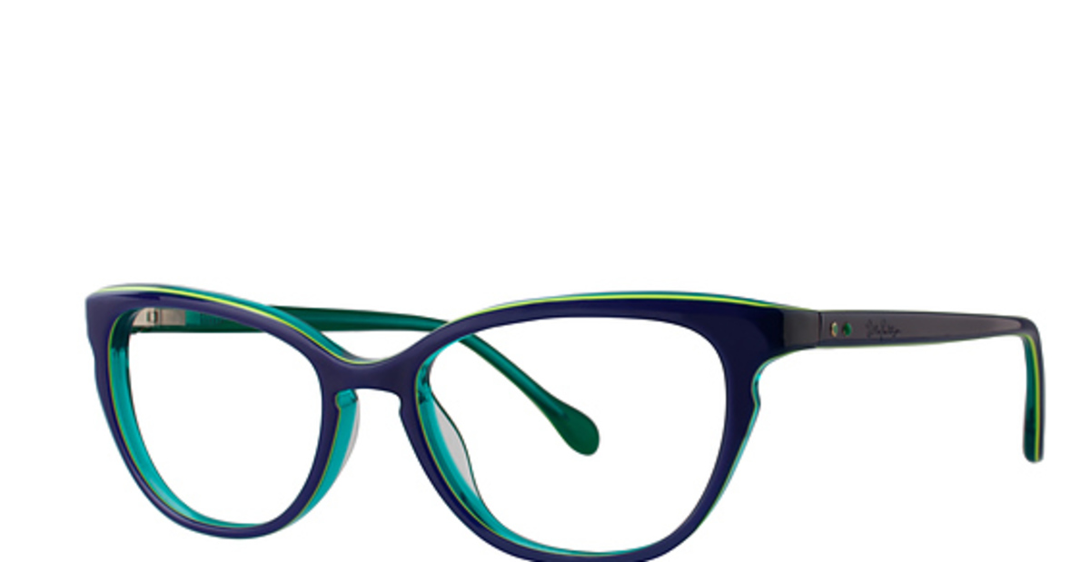 Eyeglass Frames Lilly Pulitzer : Lilly Pulitzer Foresythe Eyeglasses Frames