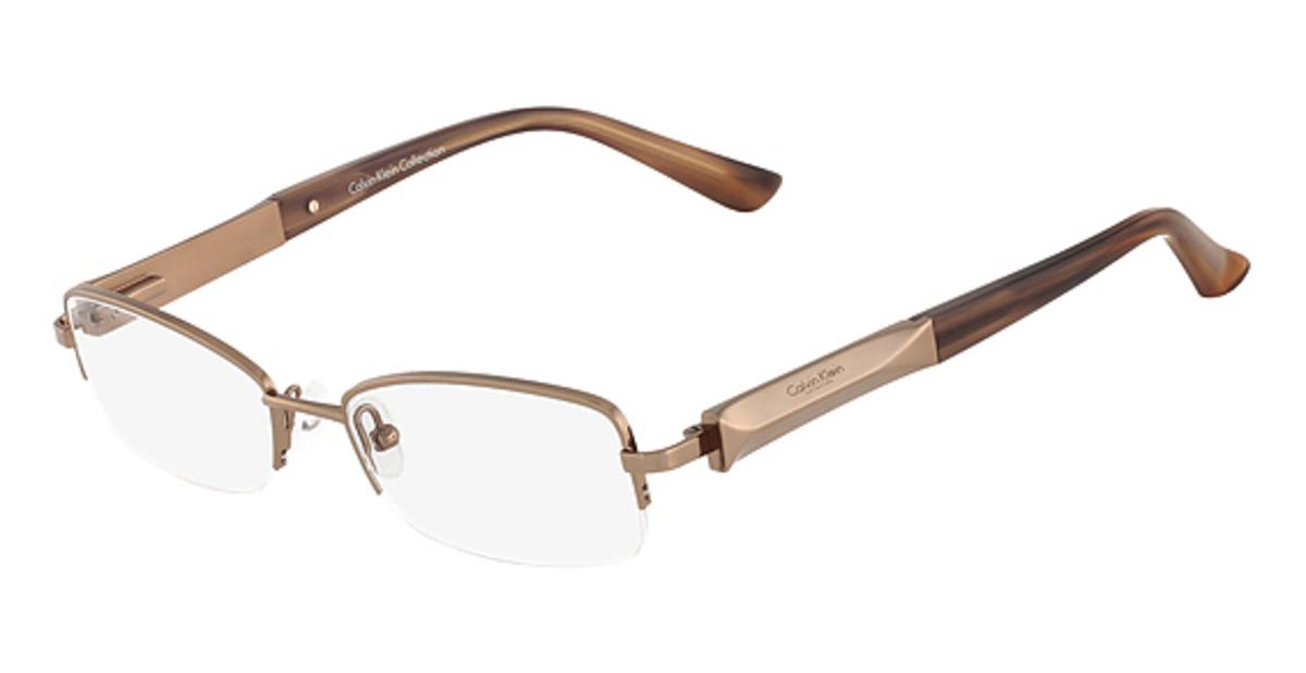 Calvin Klein Metal Frame Glasses : Calvin Klein CK7375 Eyeglasses Frames