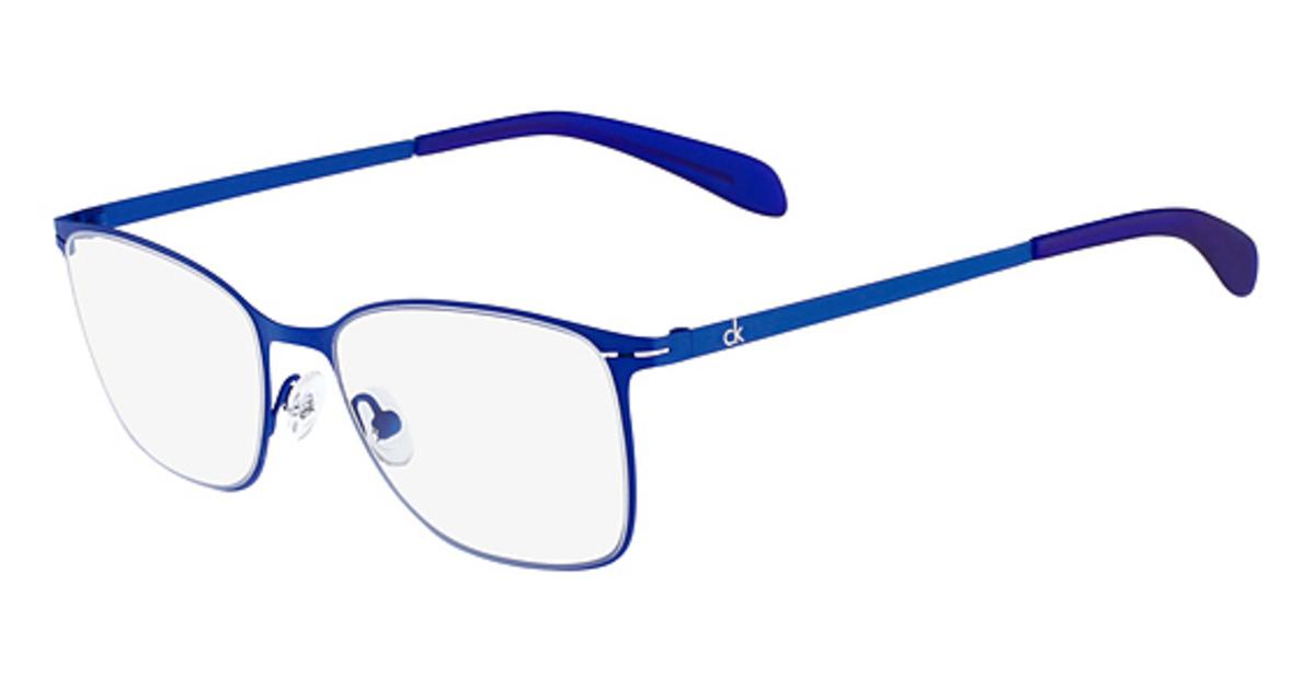 Calvin Klein Blue Frame Glasses : cK Calvin Klein CK5402 Eyeglasses Frames