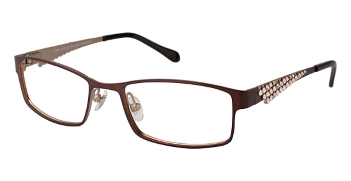 Jimmy Crystal New York Brilliance Eyeglasses Frames