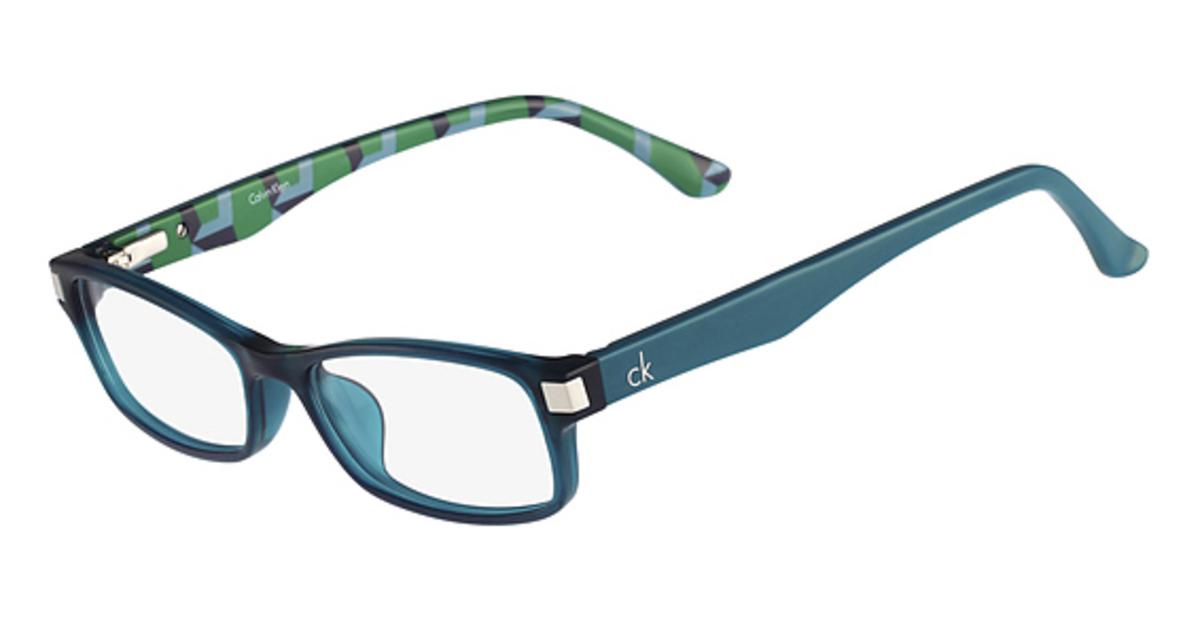 Calvin Klein Blue Frame Glasses : cK Calvin Klein CK5866 Eyeglasses Frames