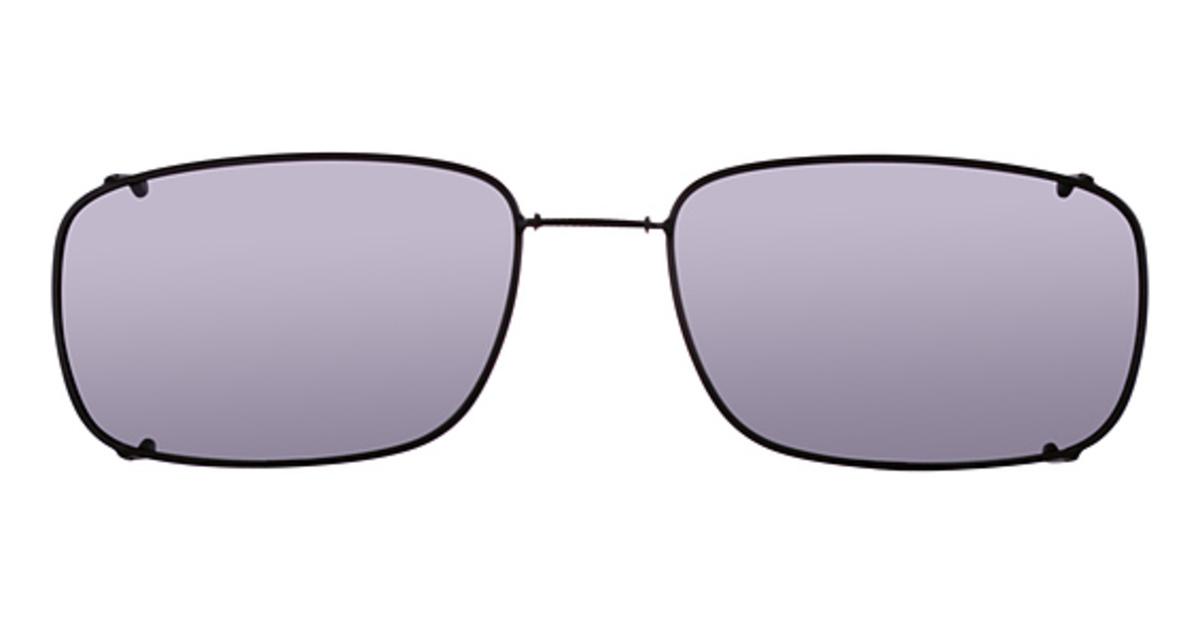 Hilco Glide-Fit Mod Rectangle Sunglasses