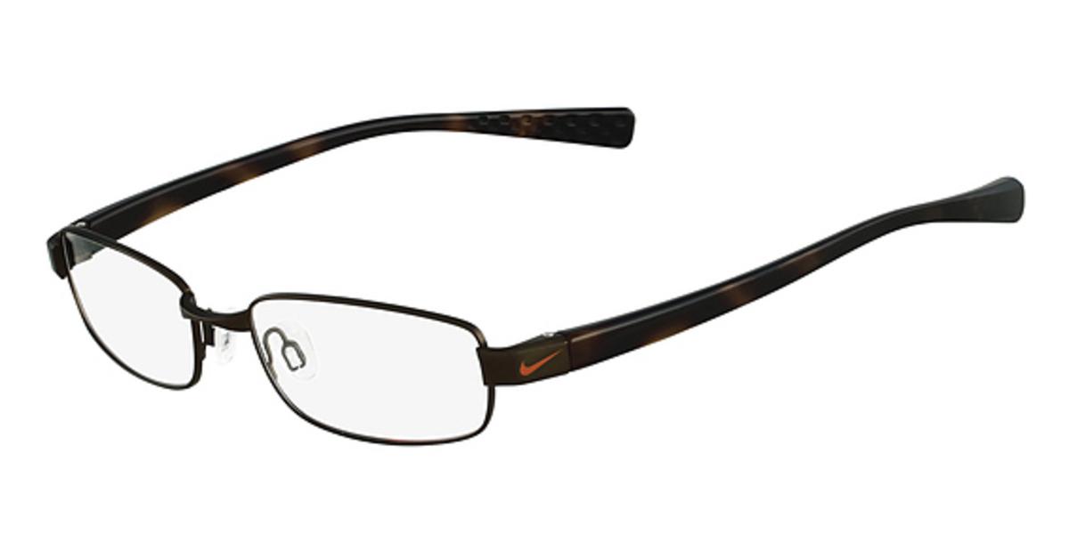 Nike Black Frame Glasses : Nike 8091 Eyeglasses Frames
