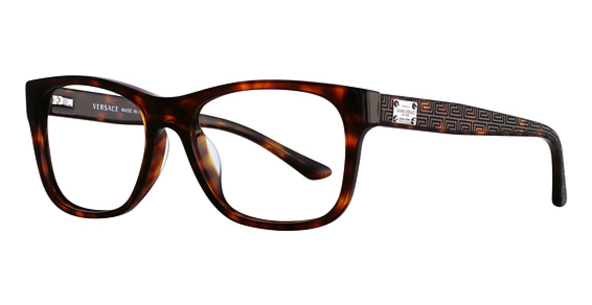 Clear Frame Versace Glasses : Versace VE3199A Eyeglasses Frames
