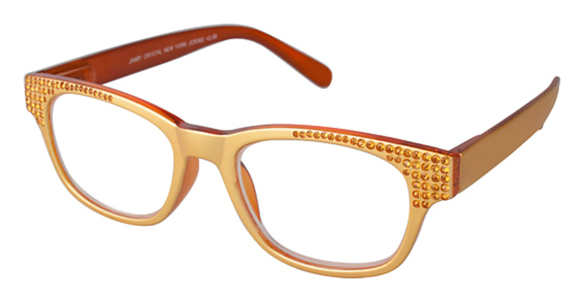 Eyeglass Frames New York : Jimmy Crystal New York JCR362 +2.00 Eyeglasses Frames