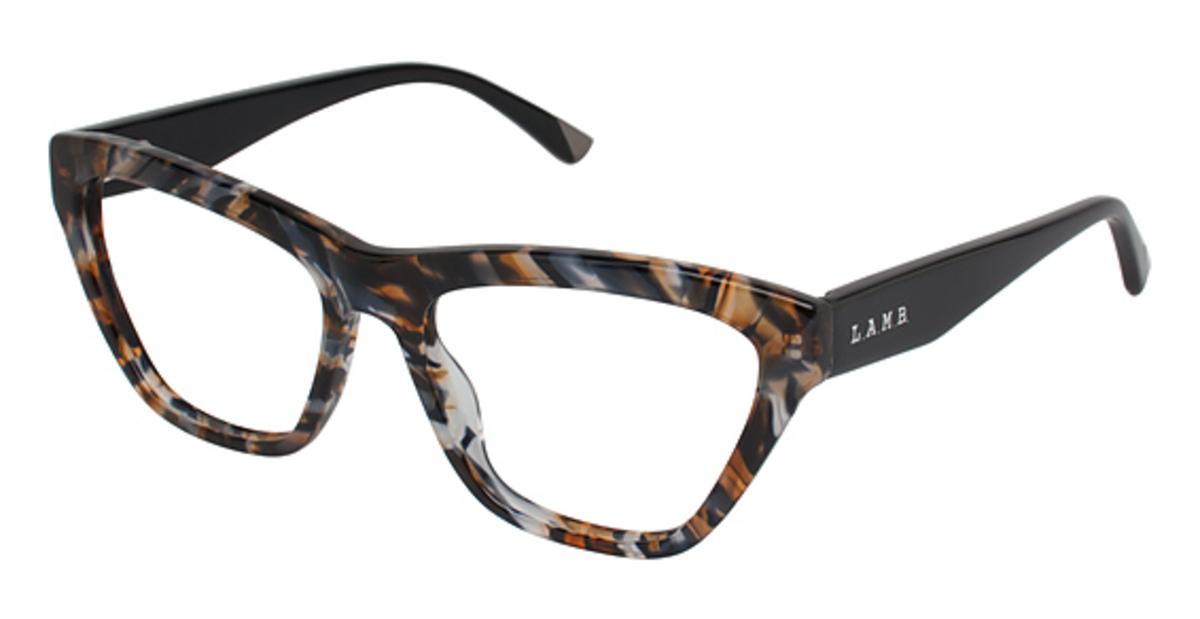 L A M B La009 Eyeglasses Frames