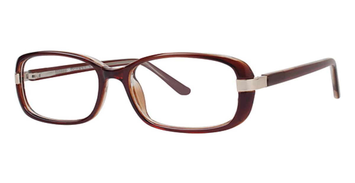 Eyeglass Frames Gloria Vanderbilt : Gloria Vanderbilt Gloria By 4043 Eyeglasses Frames