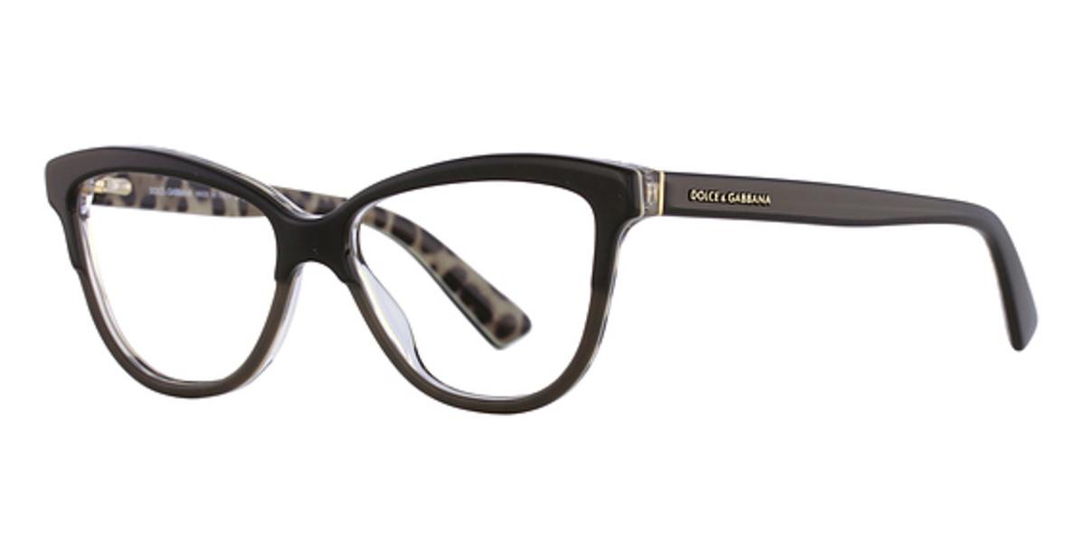 dolce gabbana dg3229 top black on leo top black on leo - Dolce And Gabbana Frames