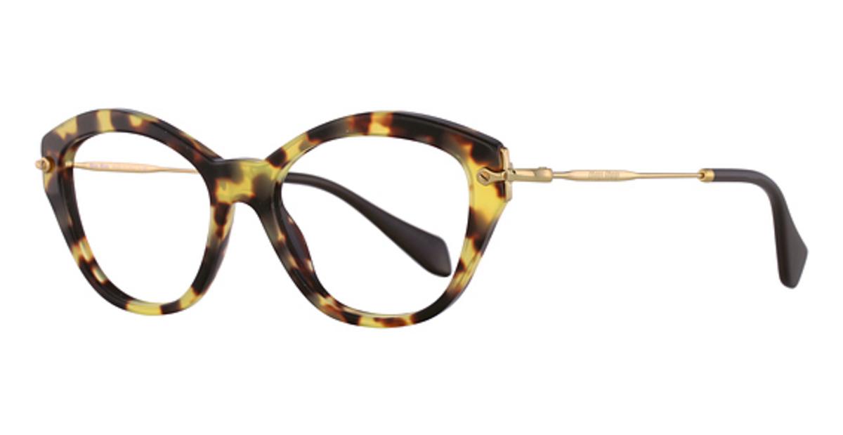 miu miu mu 02ov eyeglasses