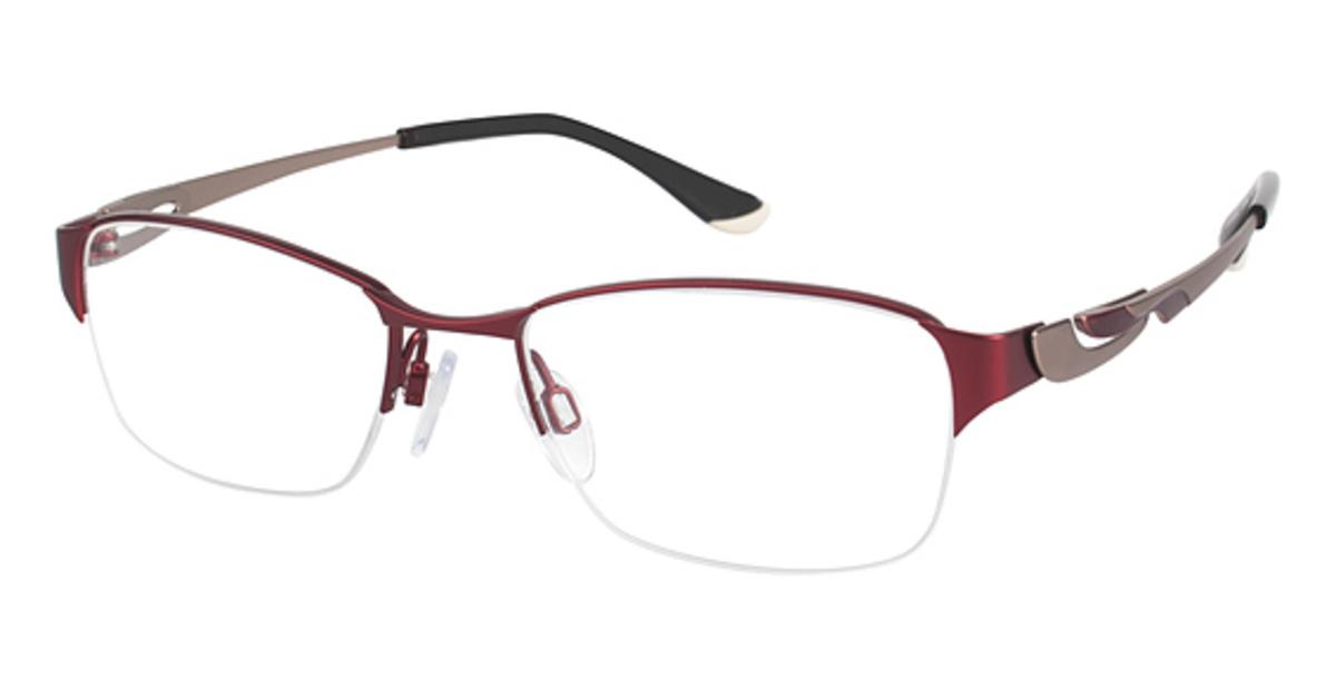 Eyeglasses Frames Charmant : Charmant Titanium TI 10603 Eyeglasses Frames