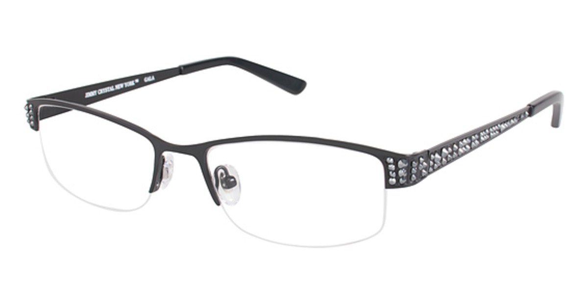 Jimmy Crystal New York Gala Eyeglasses Frames