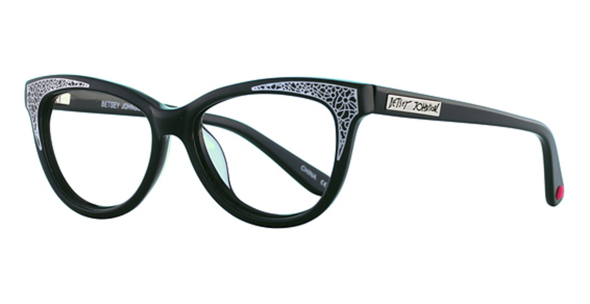 Betsey Johnson Funky Eyeglasses Frames