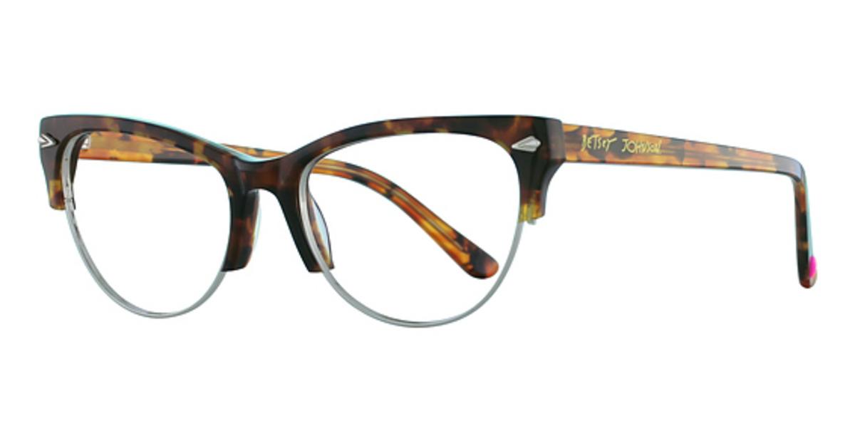 Betsey Johnson Queen Bee Eyeglasses Frames