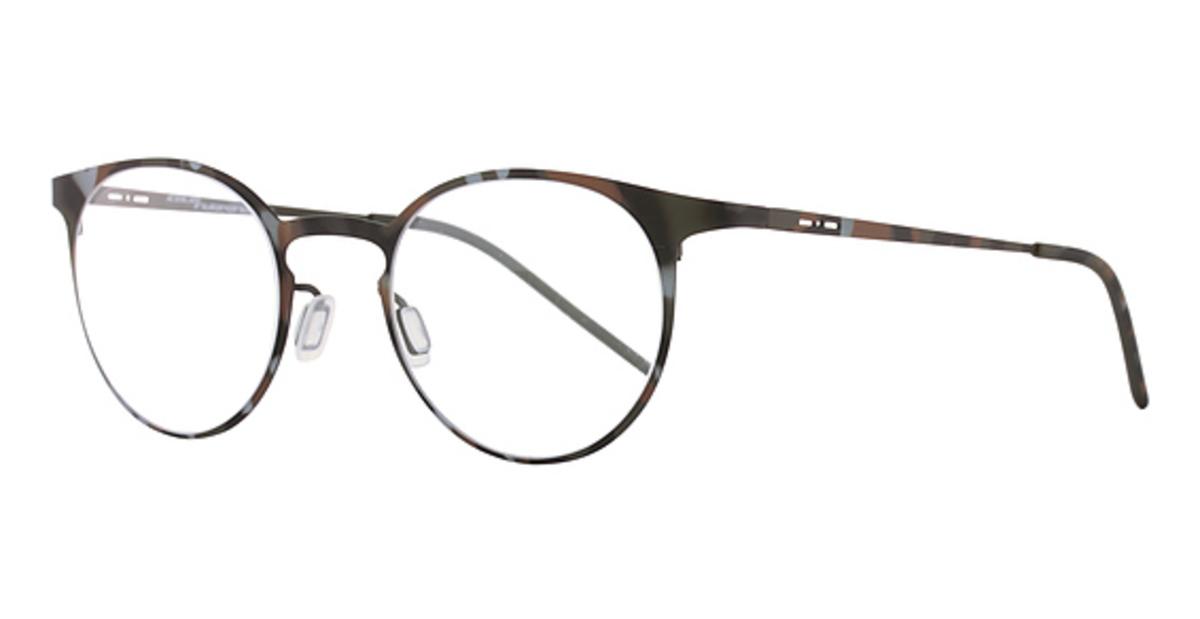 Eyeglasses Thin Frame : Italia Independent MOD 5200 I-THIN METAL Eyeglasses Frames