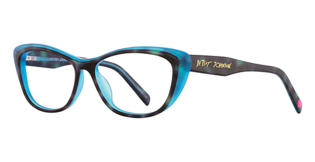 Betsey Johnson Cartwheel Eyeglasses Frames