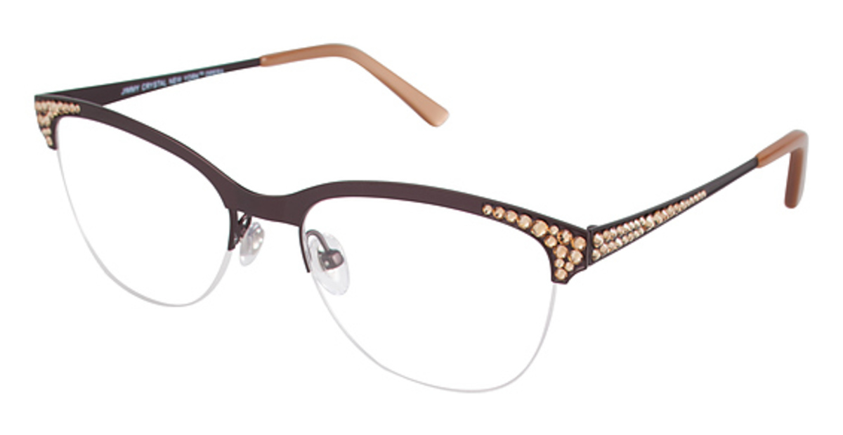 Jimmy Crystal New York Opera Eyeglasses Frames