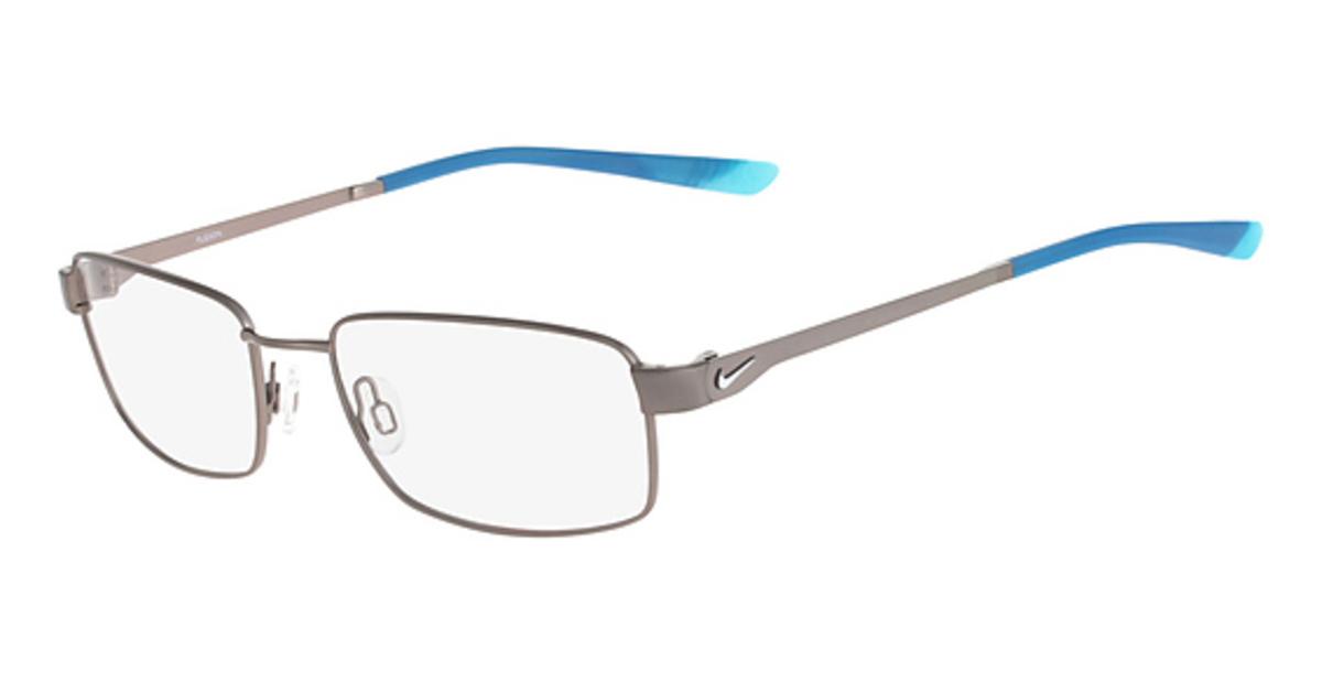 cf9f51ddf97 (004) Satin Black-Wolf Grey · Nike NIKE 4272 (033) Brushed  Gunmetal-Tidepool Blue. (033) Brushed Gunmetal-Tidepool Blue