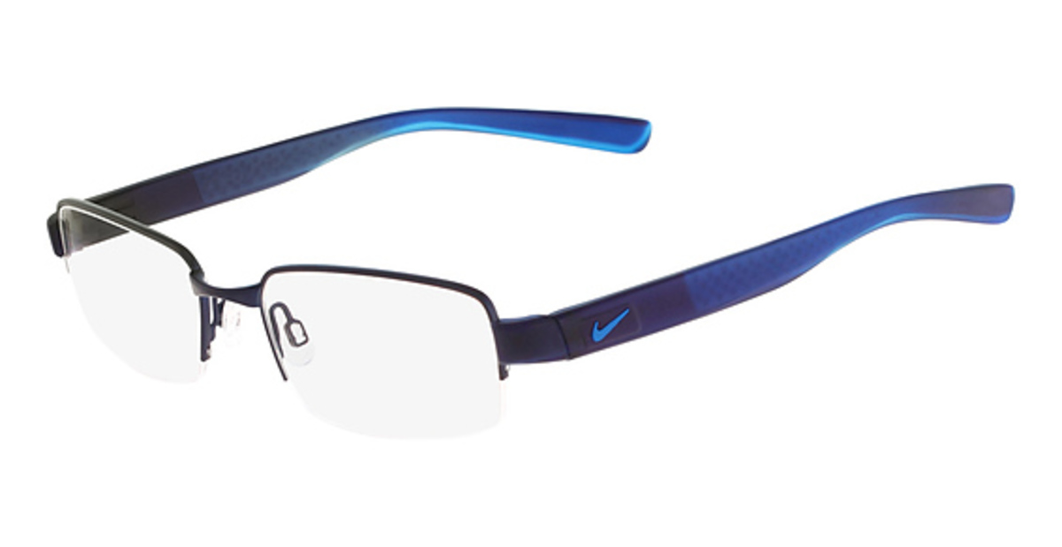 blue nike glasses