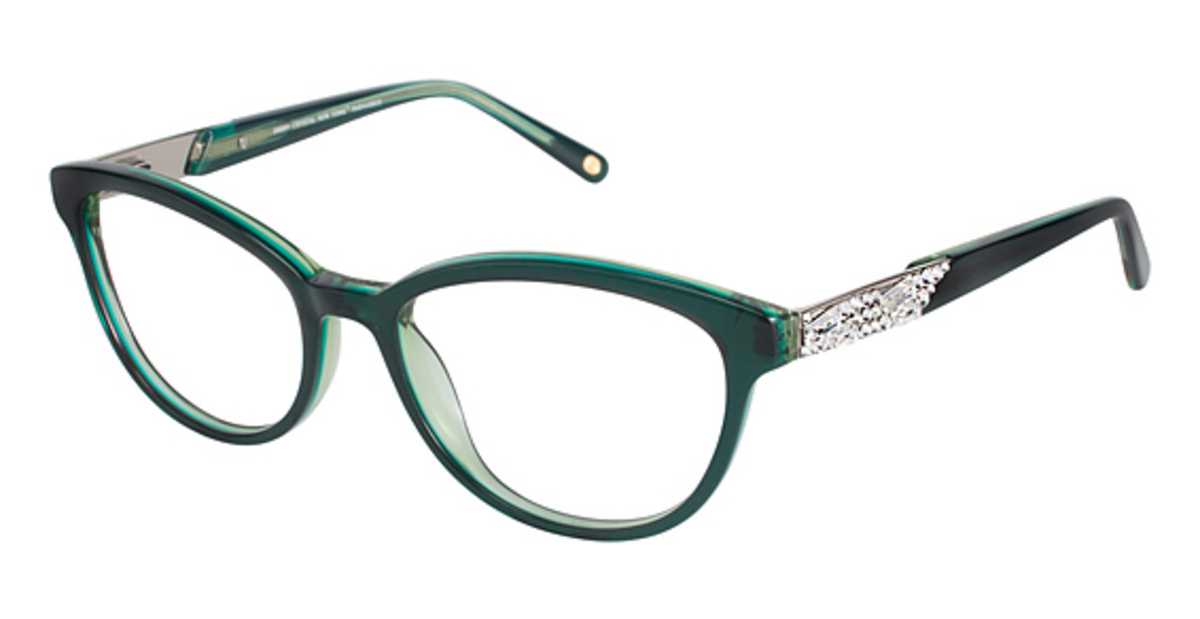 Jimmy Crystal New York Parnassus Eyeglasses Frames