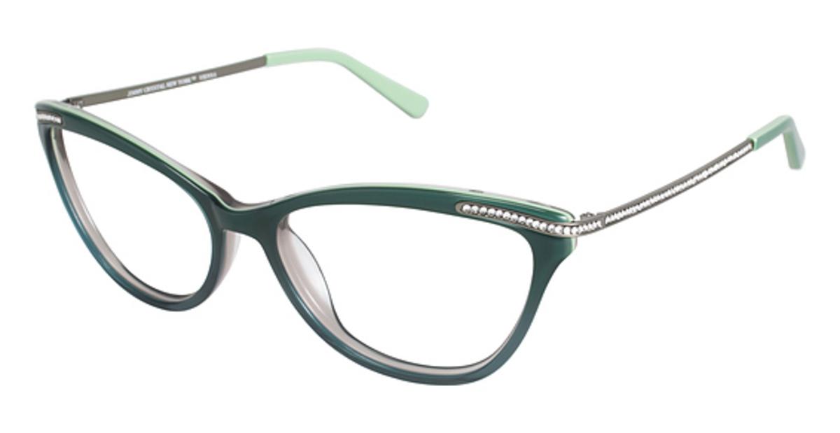 Jimmy Crystal New York Vienna Eyeglasses Frames