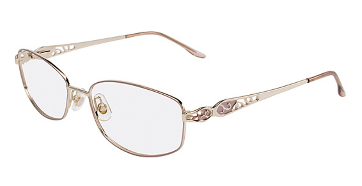 Marchon Tres Jolie 135 Eyeglasses Frames