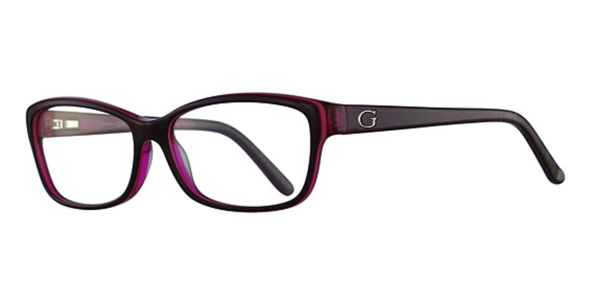 Guess Eyeglass Frames 1684 : Guess GU2542 Eyeglasses Frames