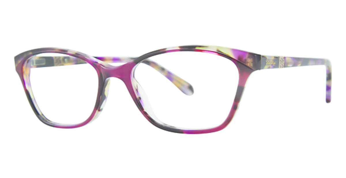 71d8aca1a643 Lilly Pulitzer Duval Eyeglasses Frames