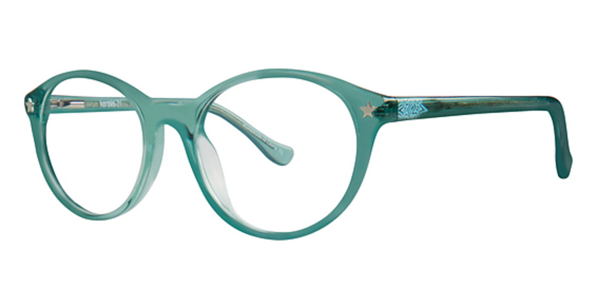 Eyeglasses Kensie Abstract Turquoise TURQUOISE