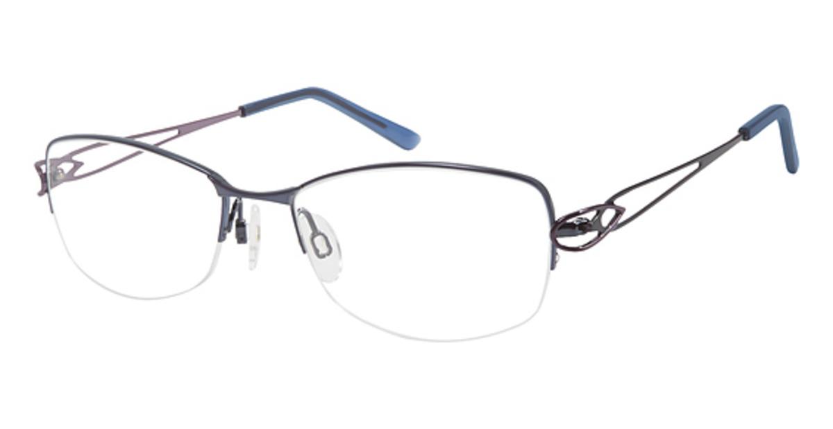 69a2b5333b4 Charmant Titanium TI 12140 Eyeglasses Frames