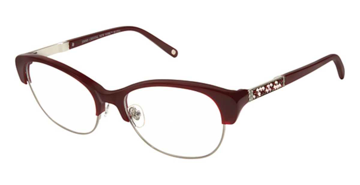 Jimmy Crystal New York Budva Eyeglasses Frames