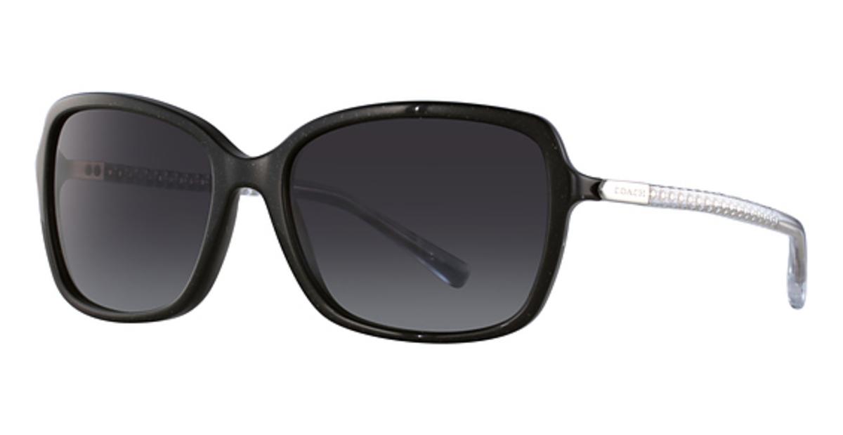 cd3bf6e429 reduced buy trends coach hc8152 sunglasses in 532711 black glitter crystal  912a7 49e5c  spain 2 colors available. coach hc8152 371ea fa6db