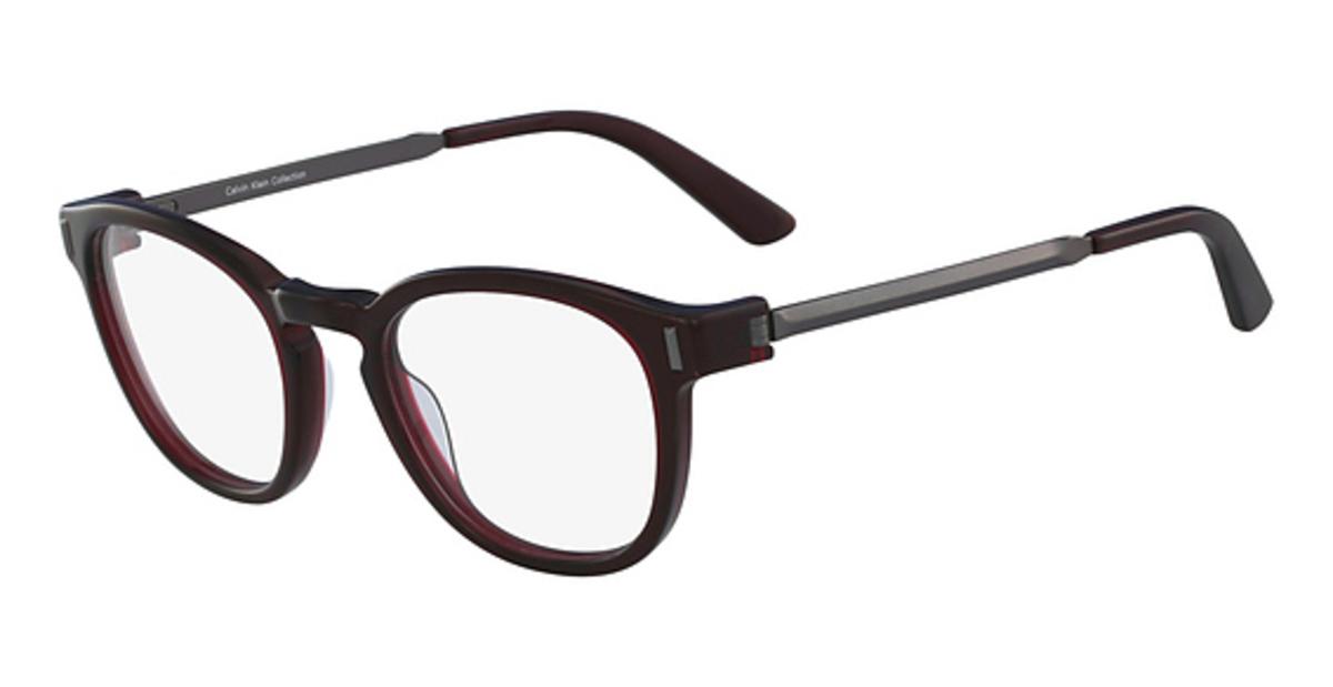 Calvin Klein Black Frame Glasses : Calvin Klein CK8552 Eyeglasses Frames