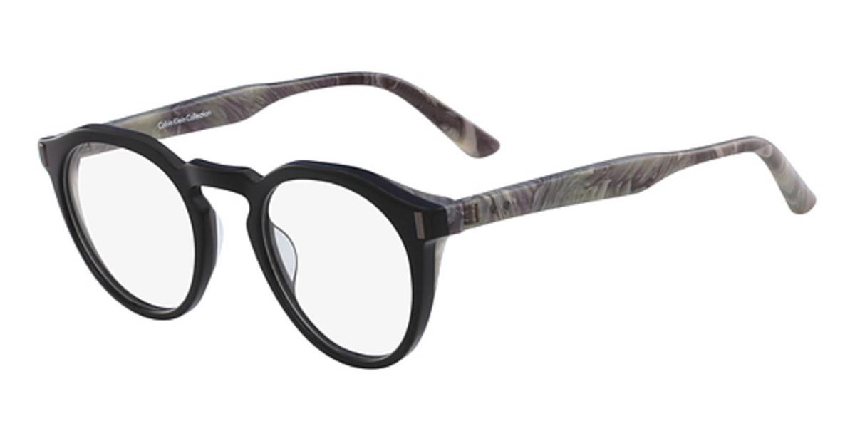 Calvin Klein Black Frame Glasses : Calvin Klein CK8561 Eyeglasses Frames
