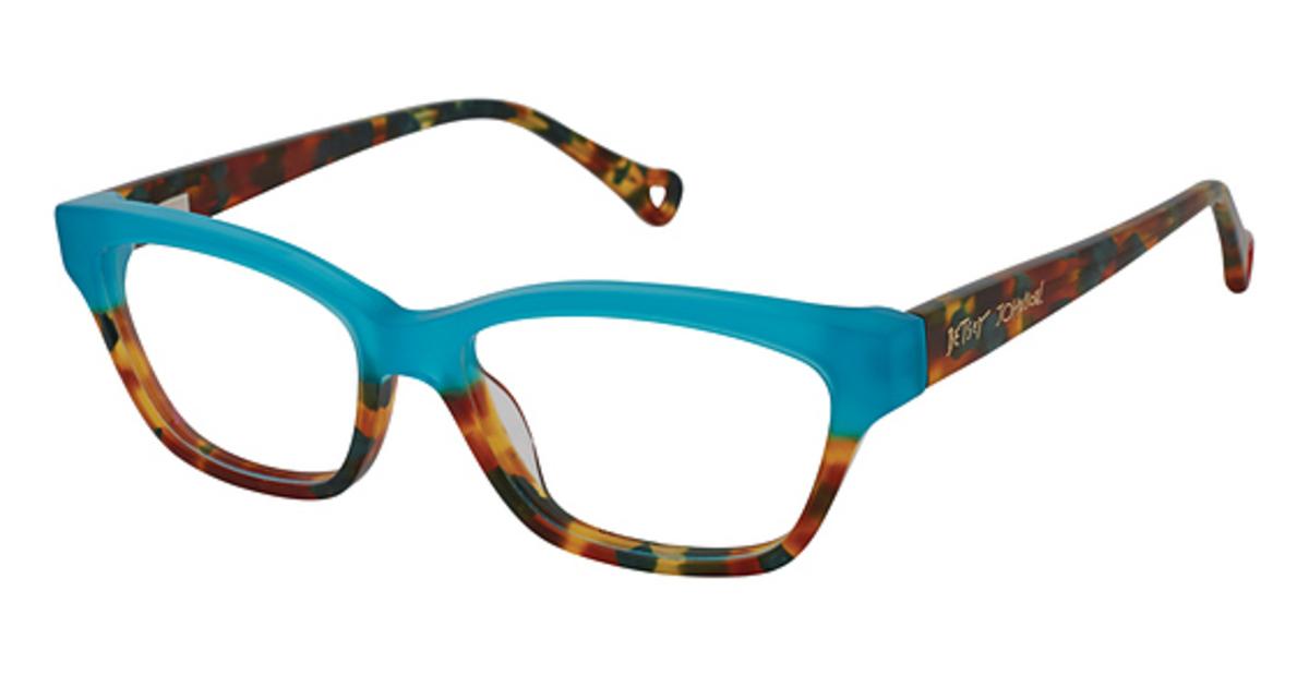 68edf28e288f7 Betsey Johnson Peachy Eyeglasses Frames