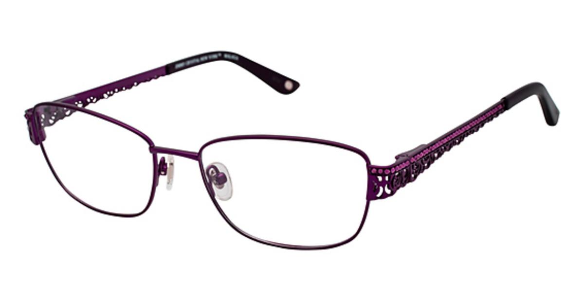 6854d289ebb Jimmy Crystal New York Malaga Eyeglasses Frames