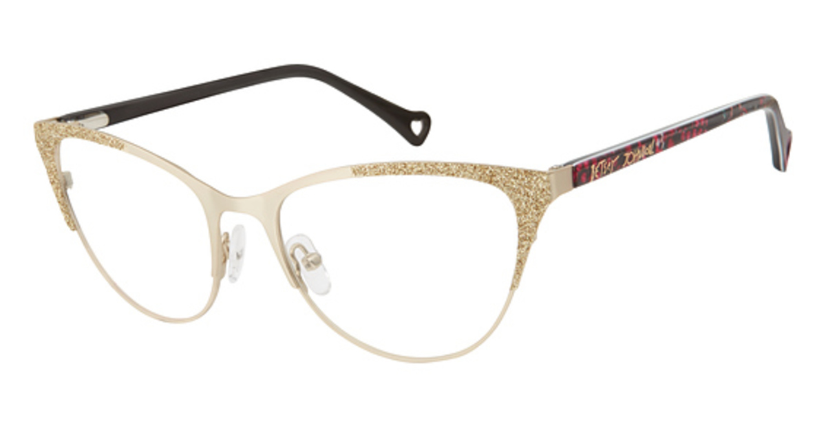 Betsey Johnson Love Bird Eyeglasses Frames