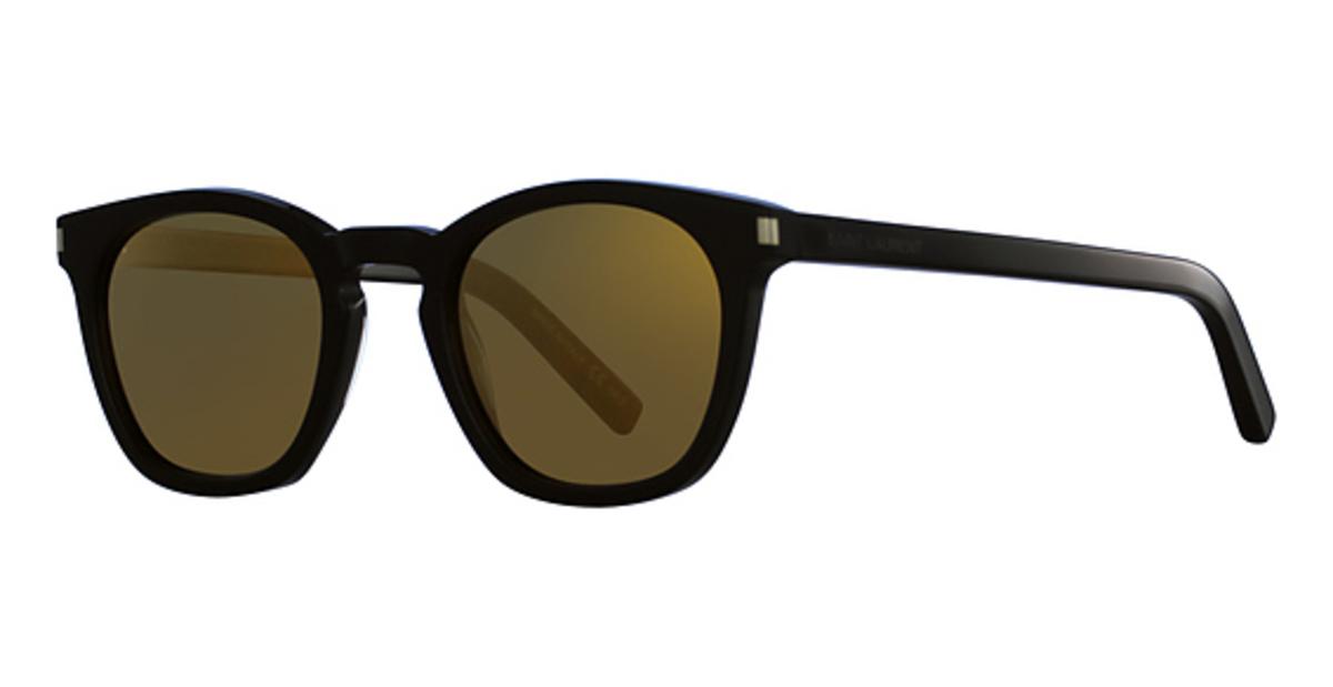 271b5c0abb42a Saint Laurent SL 28 Black-Black-Gold. Black-Black-Gold