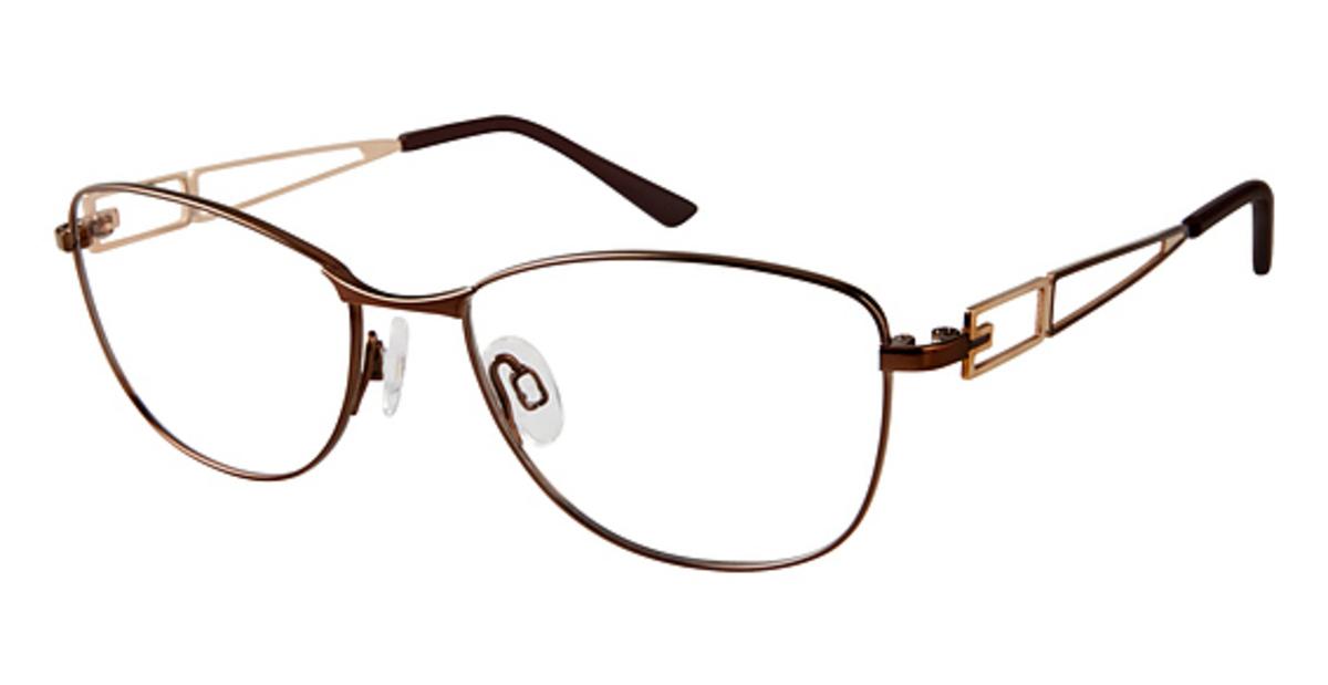 2600ac4d16 Charmant Titanium TI 12145 Eyeglasses Frames