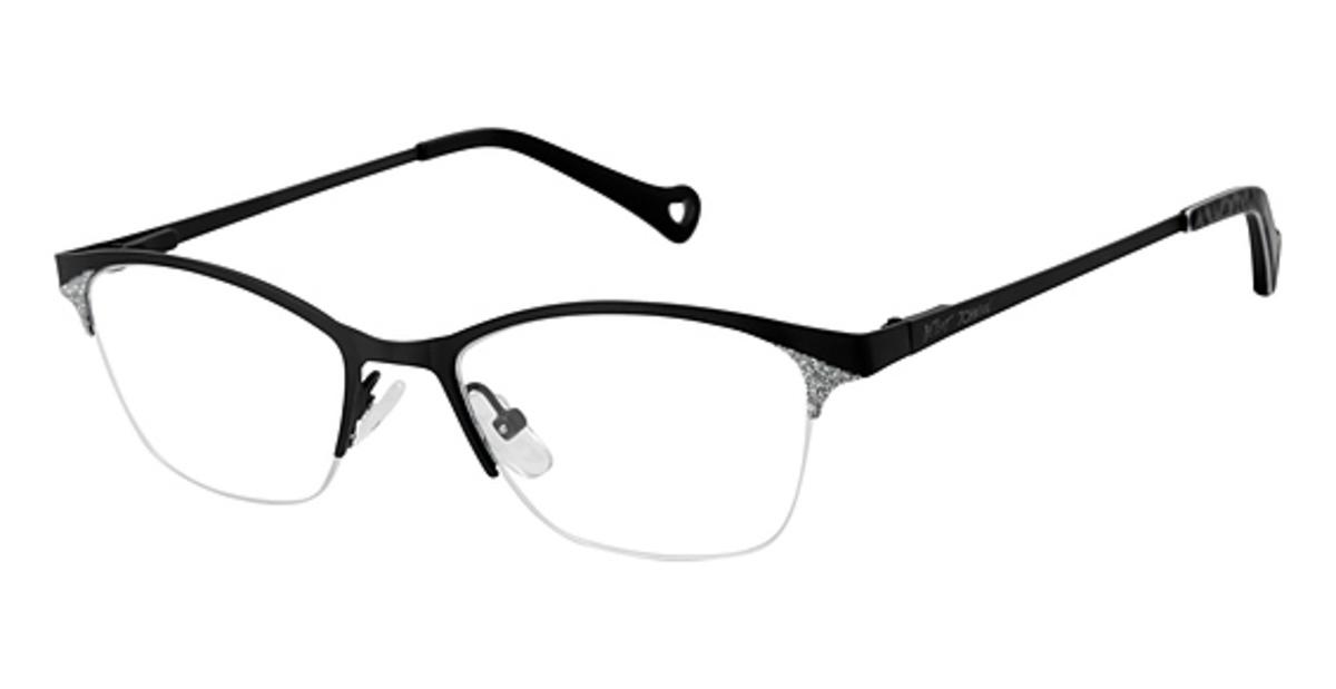 Betsey Johnson Sparkle Eyeglasses Frames