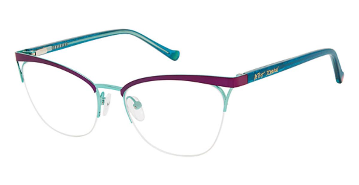 22302b4ab9d Betsey Johnson Drama Eyeglasses Frames