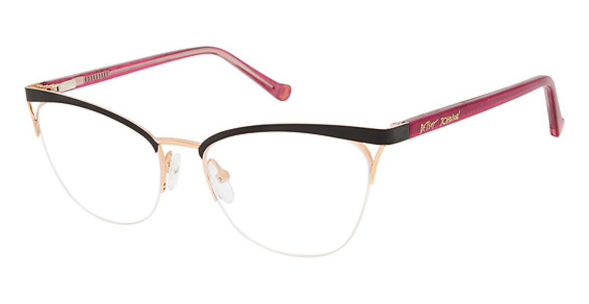 ae9ba54a5d82 Betsey Johnson Drama Eyeglasses Frames