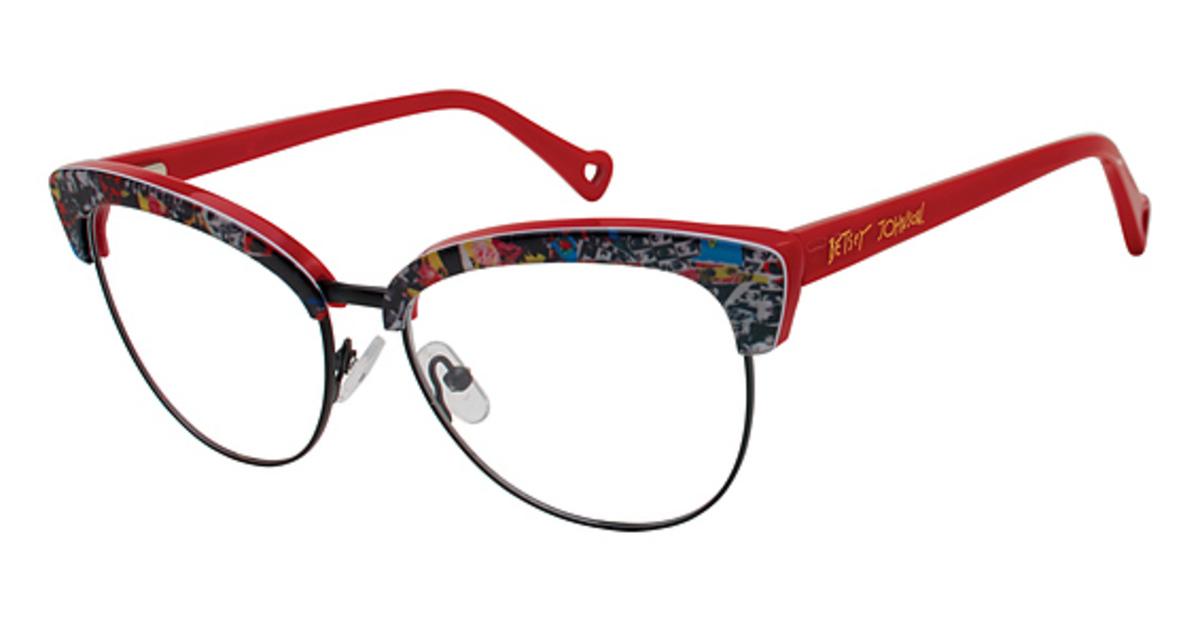 68e91324080e Betsey Johnson Punch Eyeglasses Frames