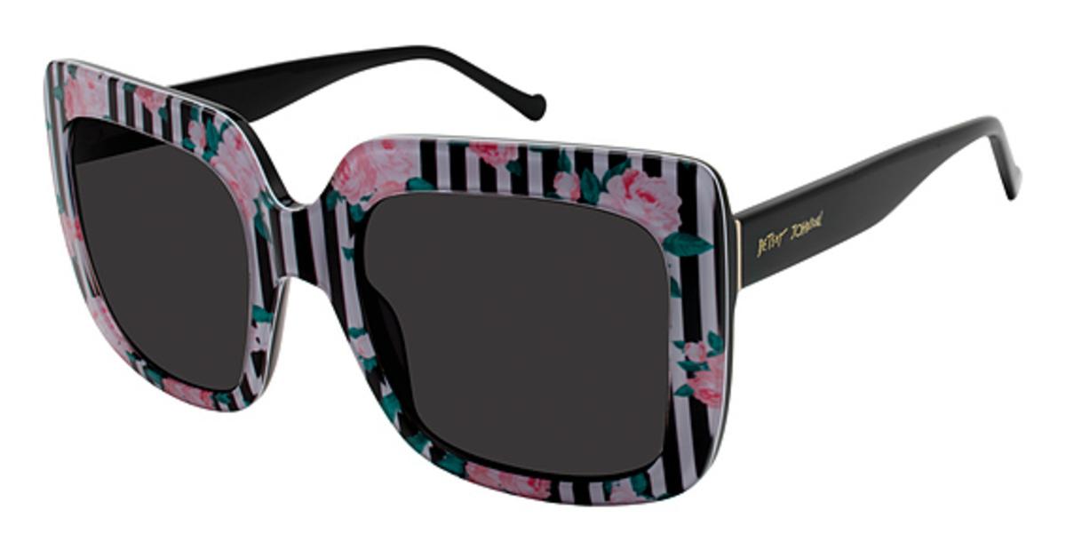 Betsey Johnson Bed Of Roses Eyeglasses Frames