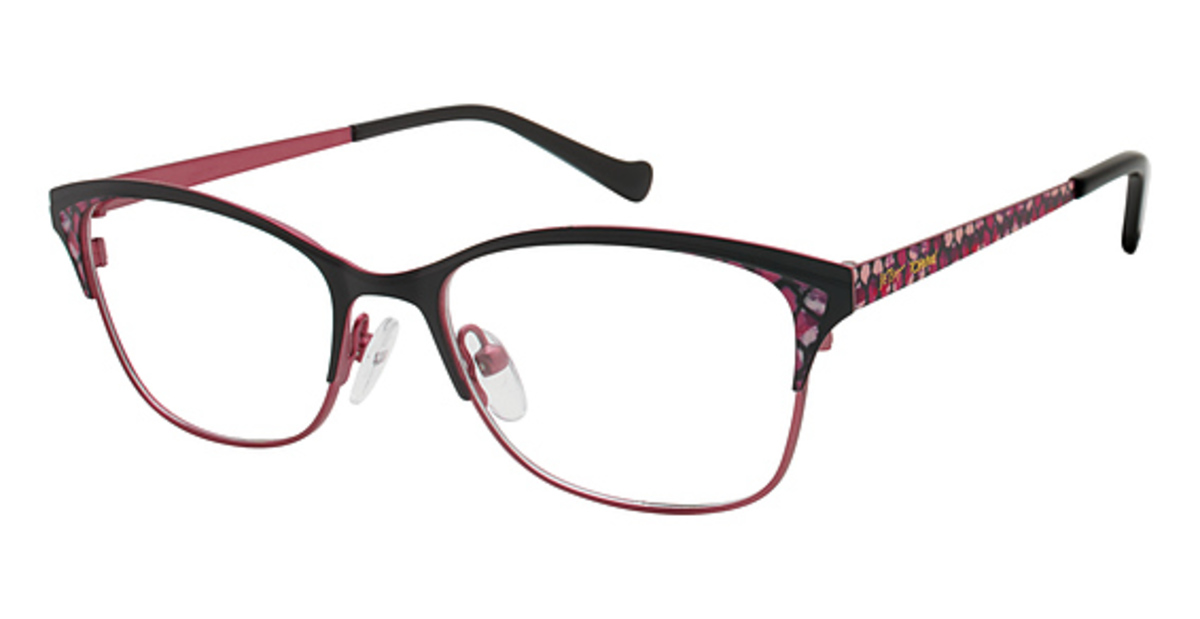 Betsey Johnson Free Spirit Eyeglasses Frames