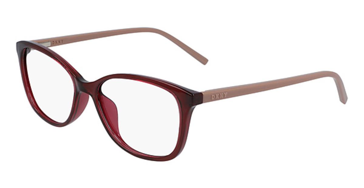 DKNY DK5008 Glasses | Sleek Rectangular Womens Frame