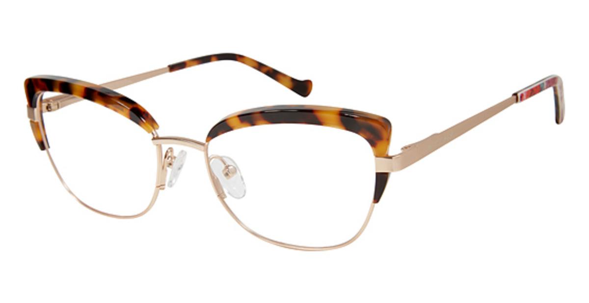 Betsey Johnson PARLEZ VOUS Eyeglasses