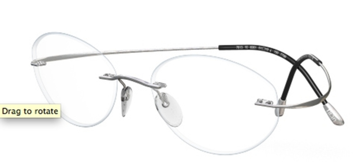 Buy Manufacturer Coupons >> Silhouette TMA The MUST Collection 7799 Eyeglasses Frames